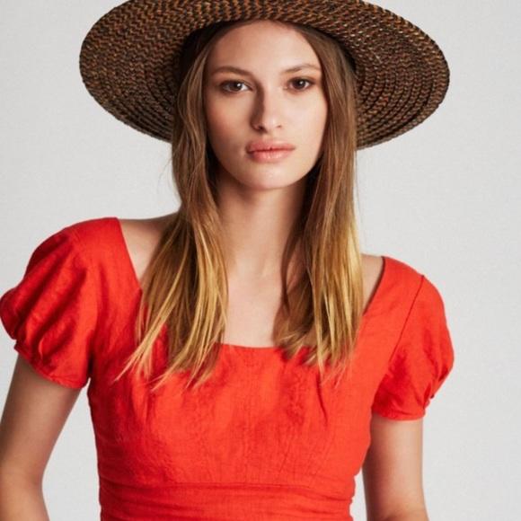 665eff1ff33 Brixton Other - Britton Joanna hat in washed black brown